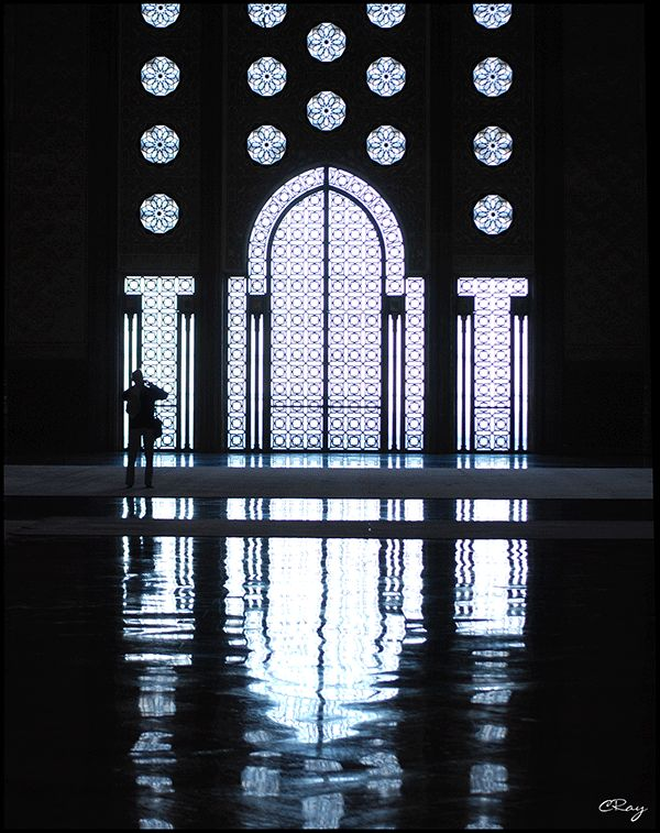 Inside of Hassan II Mosque | ... to the Mosque Hassan II in Casablanca, Morocco for an interior tour