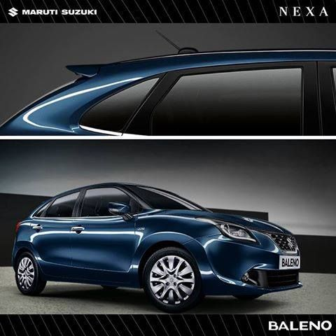 The Baleno has curves that flow like the serene ocean and lines that glisten. Have you experienced it yet?