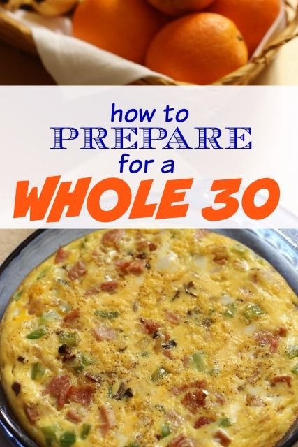 How to Prepare for a Whole 30 or Other Special Diet - Are you gearing up for a Whole 30 or other special diet? These tips can help you prepare AND reach your goal successfully.