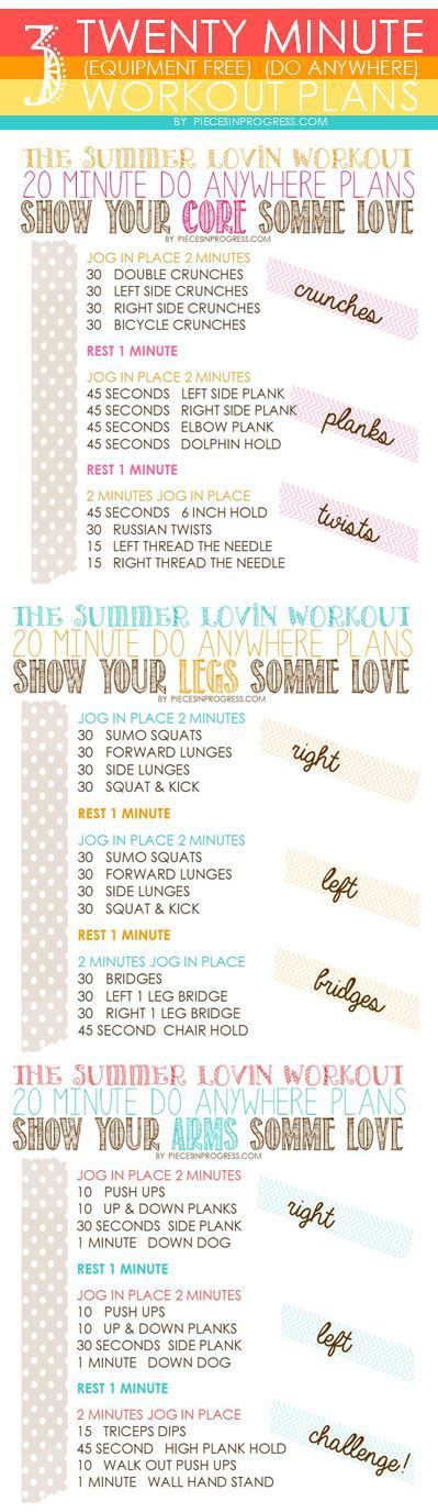 The  Best Home Workout Plans Ideas On    Week