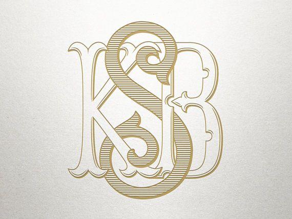 3 Letter Monogram for Wedding Monogram Wedding Logo Design