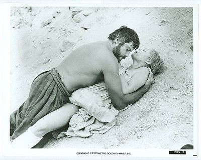 OLIVER REED, CAROLE ANDRE original movie photo 1973 ONE RUSSIAN SUMMER
