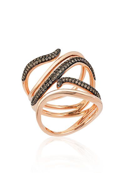 145 best images about chocolate diamonds on pinterest for Belk fine jewelry rings
