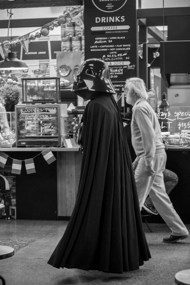 Darth Vader Visits The Colombo