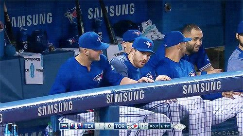 05/27/2017: Texas Rangers @ Toronto Blue Jays- Josh is back! Shove over everyone! (Source: MLB.TV) Tumblr | Patreon