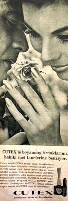 OĞUZ TOPOĞLU : cutex tırnak cilası 1964 nostaljik eski reklamlar ...