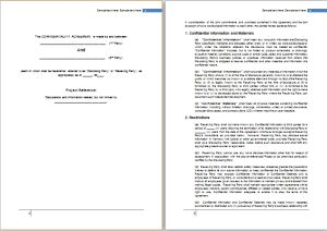 confidentiality agreement template at http://freeagreementtemplates.com/confidentiality-agreement-template-free/