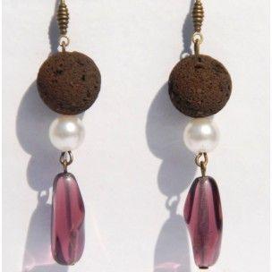 Pendientes Nayakan de Mercè Jo #art #handmade #earrings