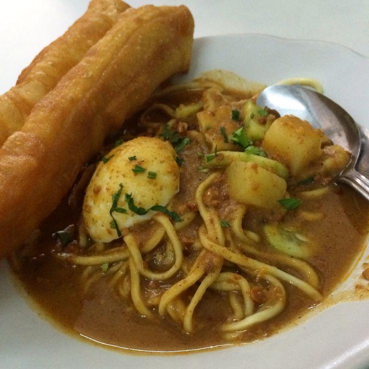 Mie kacang #breakfast #indonesiafood