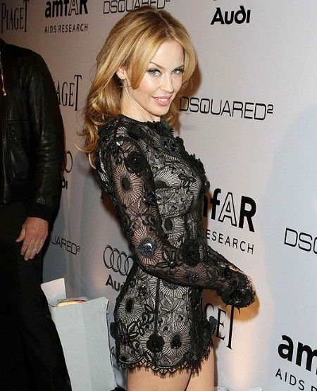 Hot style dress 2011 of Kylie Minogue