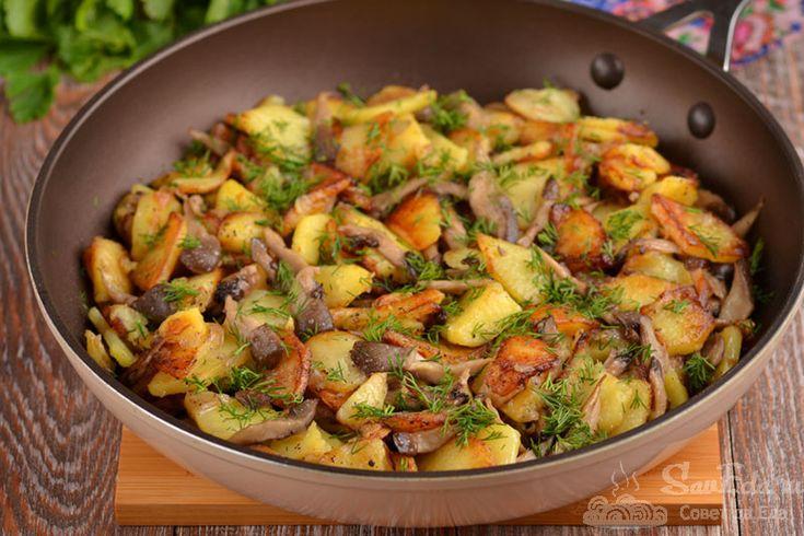 что можно приготовить с картошкой и грибами