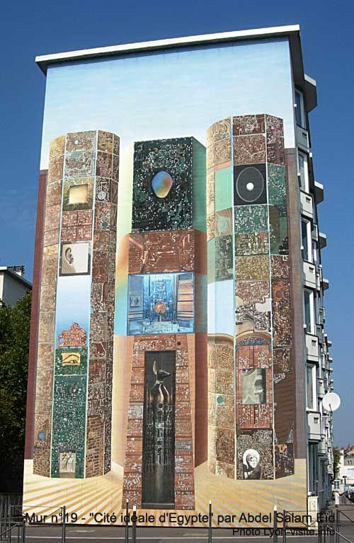 Murs-peints-Tony-Garnier-Cite-ideale-Egypte
