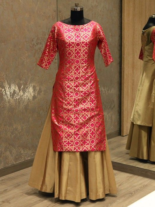 Shop Pink And Gold Indowestern Lehenga Choli By G3+ Video Shopping. Instant Price and Queries Whatsapp - +91-9913433322 View more collection at g3fashion.com  #Indowestern #Lehenga #indianwedding #designerlehenga #indianbride #lehenga #pinklehenga #indian #fashion #indianfashion #weddingstyle #weddingfashion #traditional