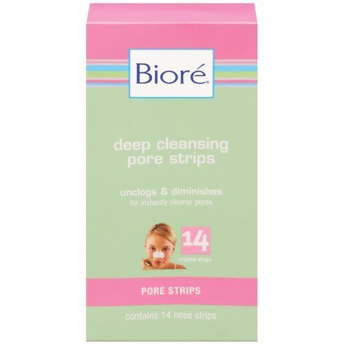Biore Pore Perfect Deep Cleansing Pore Strips , 14 Nose Strips by Biore, http://www.amazon.com/dp/B0009EILKS/ref=cm_sw_r_pi_dp_b1ZFpb1Z3E8GT