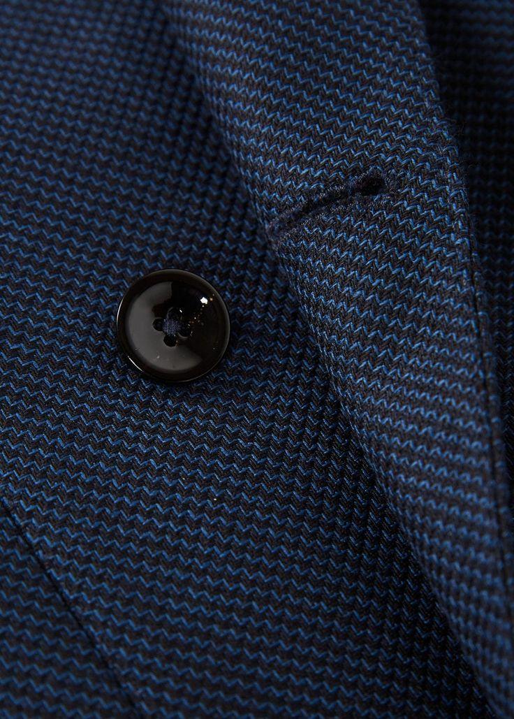 Americana traje slim-fit lana | MANGO MAN