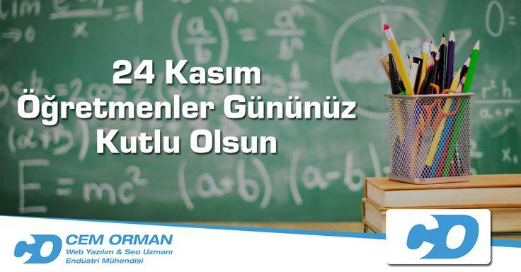 """""""Öğretmenler, yeni nesil sizlerin eseri olacaktır."""" M.Kemal Atatürk. Başta biricik eşim olmak üzere tüm öğretmenlerimizin bu özel gününü saygı ve minnetle kutluyorum."""