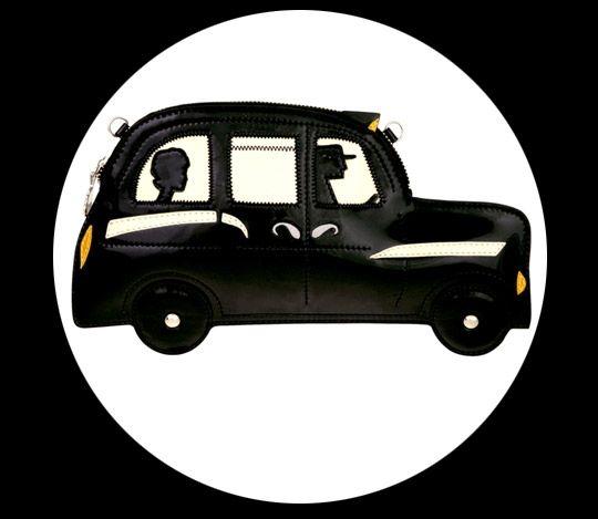 Lulu Guinness London Taxi Cab clutch