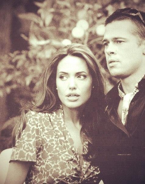 Brad and Angelina <3