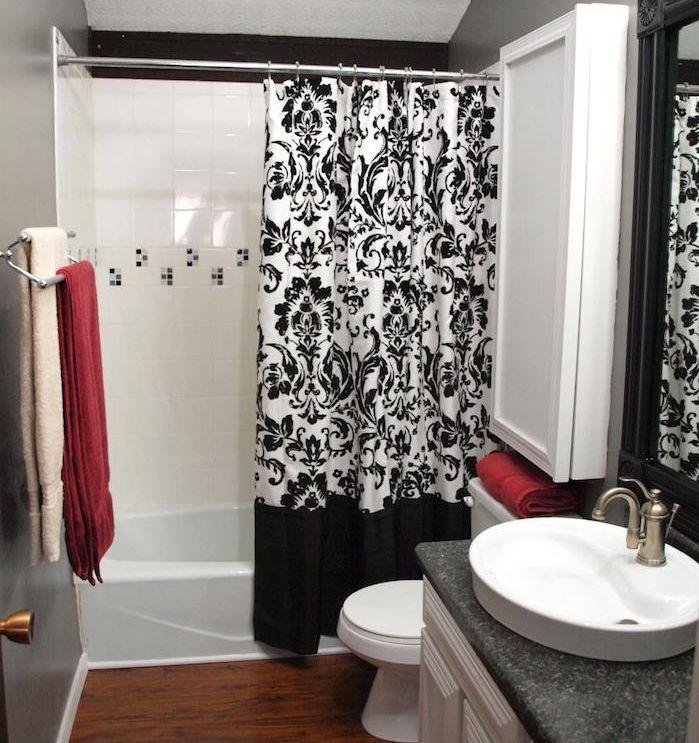 125 best rideaux de douche images on Pinterest Shower curtains