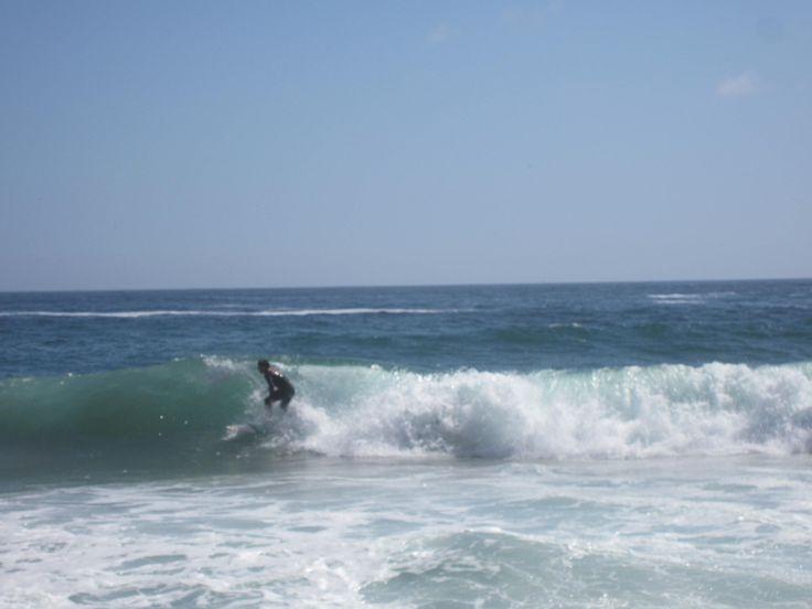 Surfing in Renaca