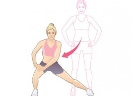Dynamic Side Lunge #BestStretch #stretch