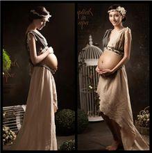 2016 zomer stijl Moederschap Jurken Moederschap Fotografie Props jurk sexy Fancy Zwangerschap Zwangere fotografie props(China (Mainland))