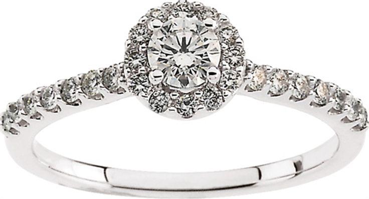 Diamond Engagement Ring Matthew Erickson Jewelers