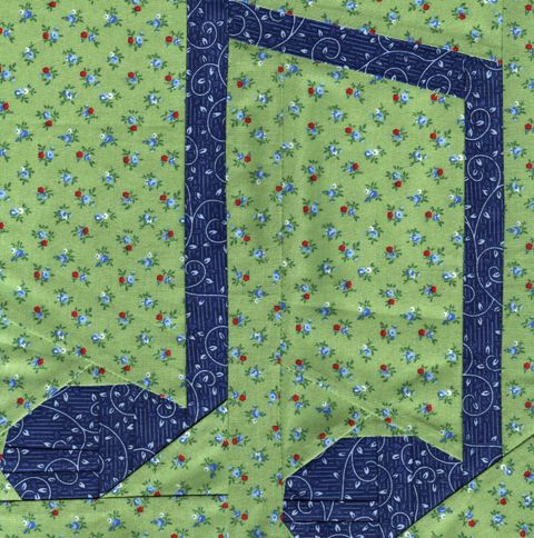 Garden Party Blog Hop – Music Notes Quilt Pattern | Whims And Fancies