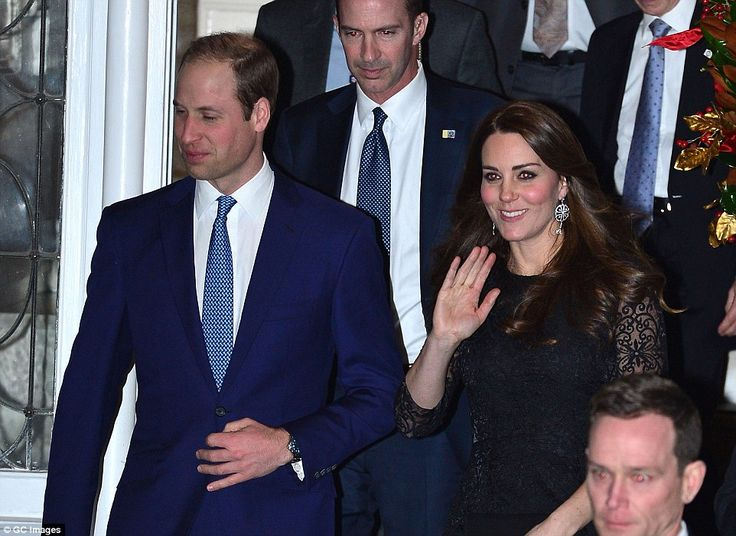 Busy schedule; Shortly after arriving on Sunday The Duke and Duchess began their tour by attending a private charity dinner held at the Manhattan apartment of British media and marketing mogul Sir Martin Sorrell