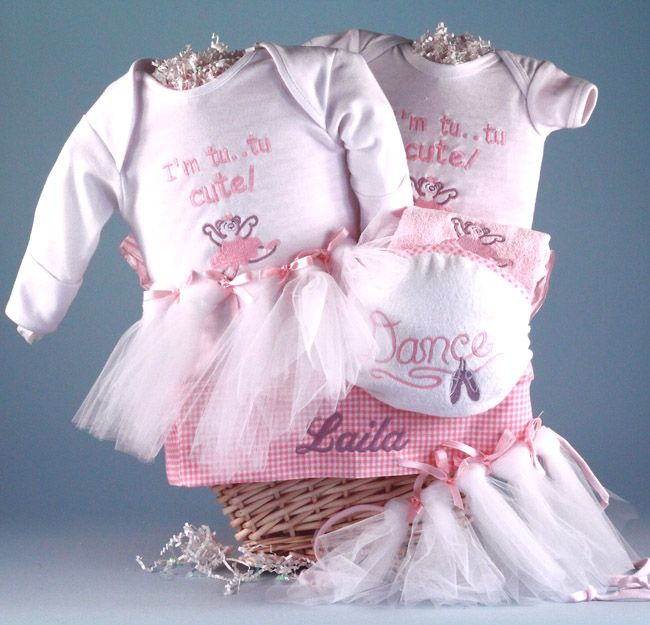 154 best baby gift baskets for girls images on pinterest baby baby gifts n treasures presents this adorable little ballerina personalized baby gift basket for baby girl start the aspiring prima ballerina off on the negle
