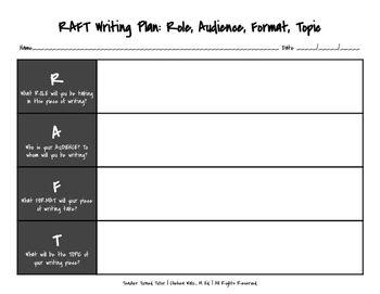 782 best language arts images on pinterest teacher pay teachers raft writing plan landscape format pronofoot35fo Image collections