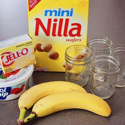 Banana Pudding In A Jar!