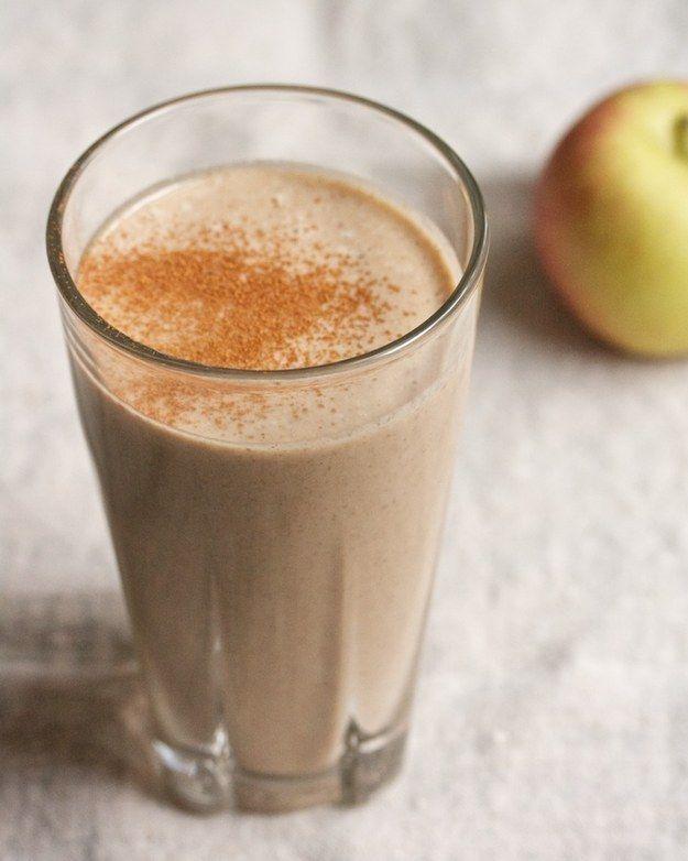 Vitamina de maçã, canela e amêndoas | 25 cafés da manhã fáceis para impulsionar seu dia
