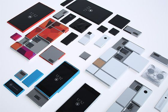 Question #2 a: This is Project Ara, what Dave Hakkens' creation is being used for, from a concept to a reality. #modlife