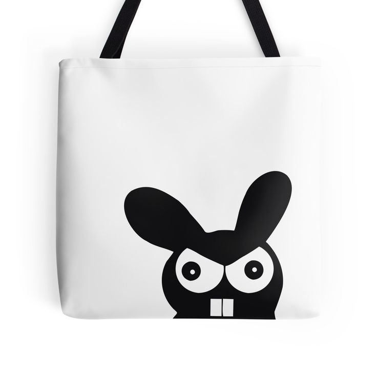 """""""Bunny"""" Tote Bags by fukuu 