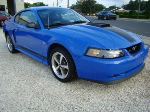 Azure Blue 2003 Mustang Mach 1  -  mustangworld.com