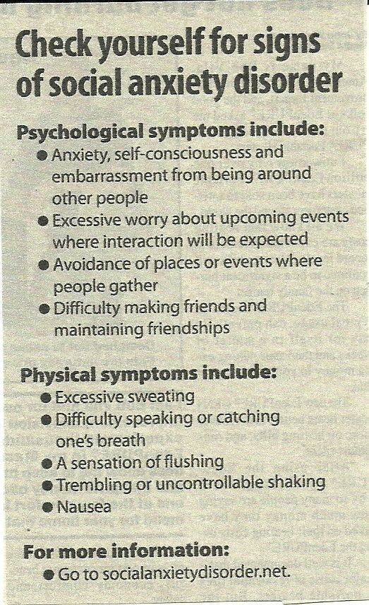 social anxiety disorder the psychology of Social anxiety disorder affects around 7% of the populationpeople with social anxiety disorder usually feel nervous and uncomfortable in social situations.