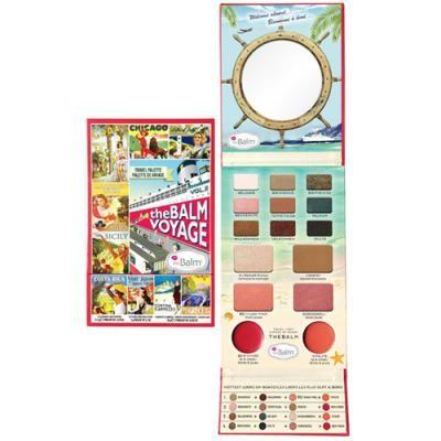Balm Voyage 2 er en palette med det hele. Du får et stort udvalg af øjenskygger, blushes, lipgloss + highlighter og bronzer!
