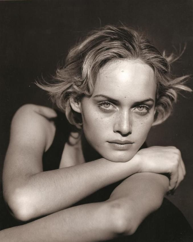 Amber Valletta by Peter Lindbergh for Jil Sander