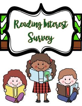 What do your students enjoy reading?  Get to know them and tailor their book selections using this reading interest survey!