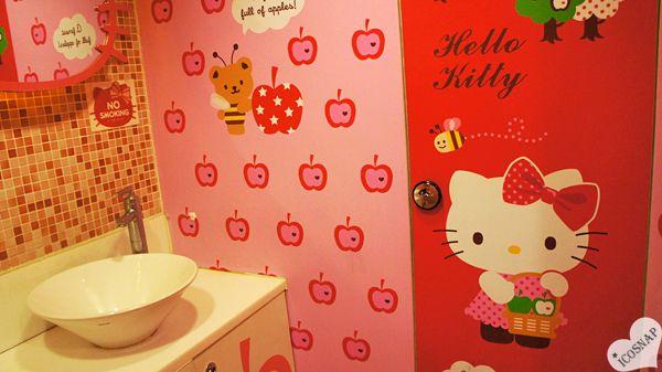 HELLO KITTY CAFE IN SEOUL SOUTH KOREA
