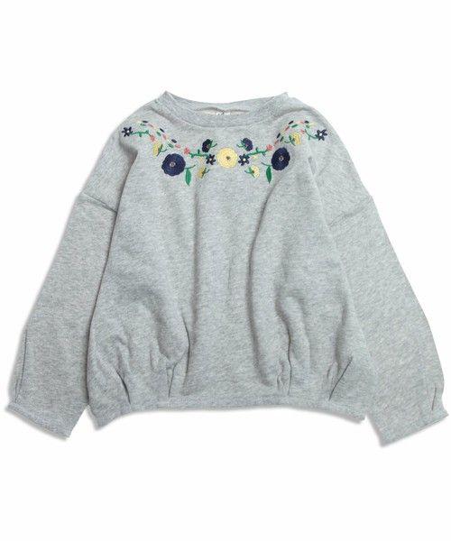 【ZOZOTOWN】apres les cours(アプレレクール)のTシャツ/カットソー「刺繍長袖Tシャツ」(V406986)を購入できます。