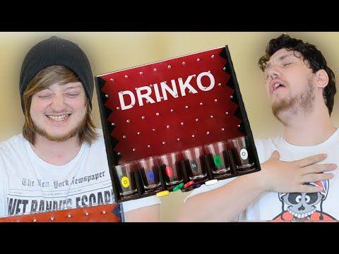 Drinko (The Plinko Drinking Game Challenge) | WheresMyChallenge - YouTube