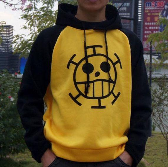 New Anime ONE PIECE Trafalgar·Law Cosplay Sweater Hoodie Death Surgeon Clothing