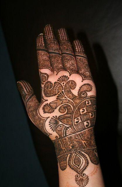 Latest Arabic Mehndi Designs Pictures