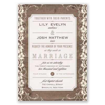 266 best Wedding Invitations images on Pinterest Bridal - fresh sample invitation letter to wedding
