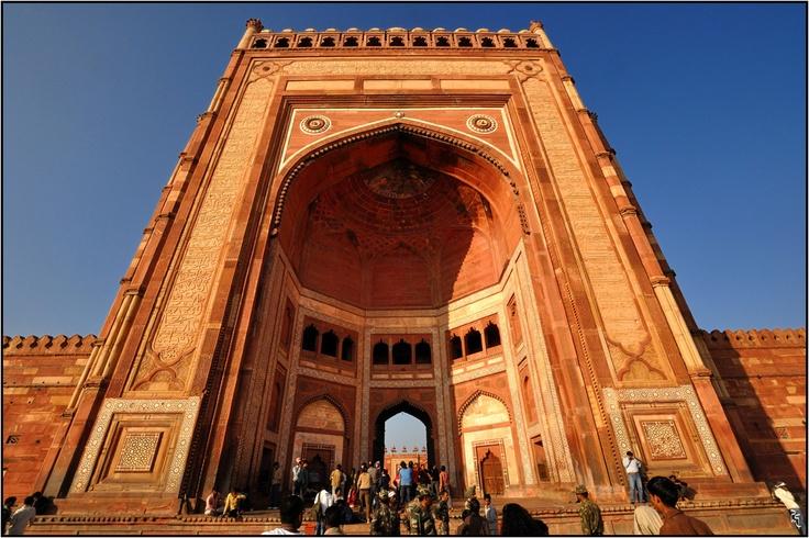 The Buland Darwaza, Fatehpur Sikri | Majestic India ...