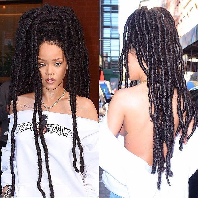 Rihanna || Rasta || Locs || Dreads || Sleeveless || Queen || 2016