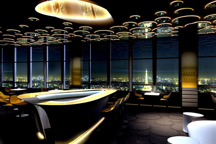 Ciel de Paris - Most people know the top of the Tour Montparnasse for its restaurant. But with its 2012 refurbishment and re-opening, a nice little champagne bar came along with.