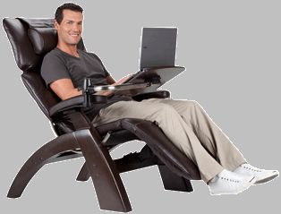 Now Everything You Need To Make Your Human Touch Perfect Chair Experience  Even More Perfect Is Within Easy Reach. The Laptop Desk Attaches To The  Perfect ...